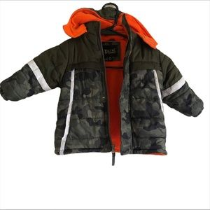 Ixtreme Camo Print Puffer Jacket Toddlers Boys 18M
